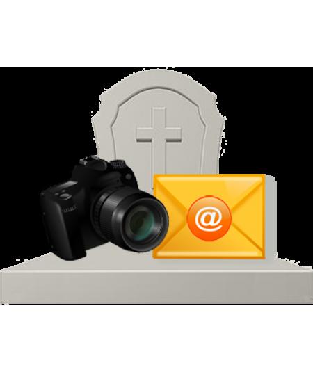 Je vous offre un bilan photos pour la tombe de vos proches disparus.